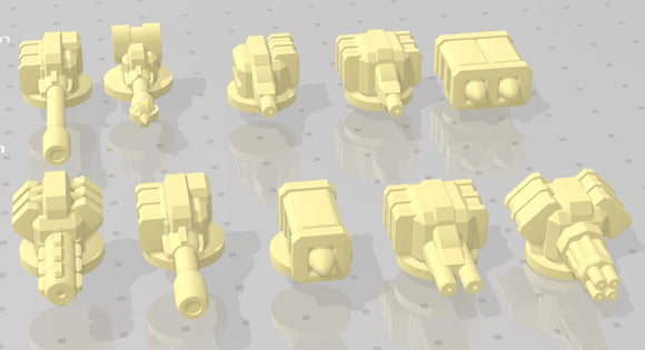Gaslands Weapon Sets #5