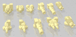 Gaslands Weapon Sets #4