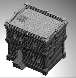 Ulvheim House 2 Story-[40KTerrain]-[Fantasyterrain]-[3DPrintedTerrain]-[Wargaming]-[Tabletopgaming]-OTP Terrain Off The Print Gaming