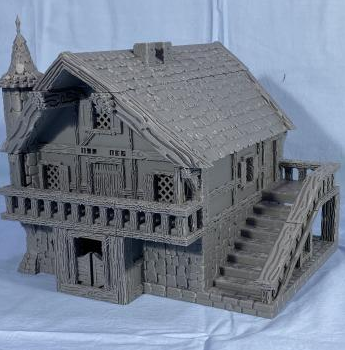 Sleepy Hollow Tavern - 25 to 28 mm True Scale
