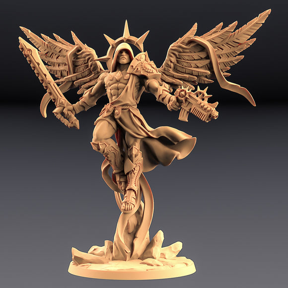 EPIC BOSS Sol The Holiest With 2 Wings, Gun & Sword