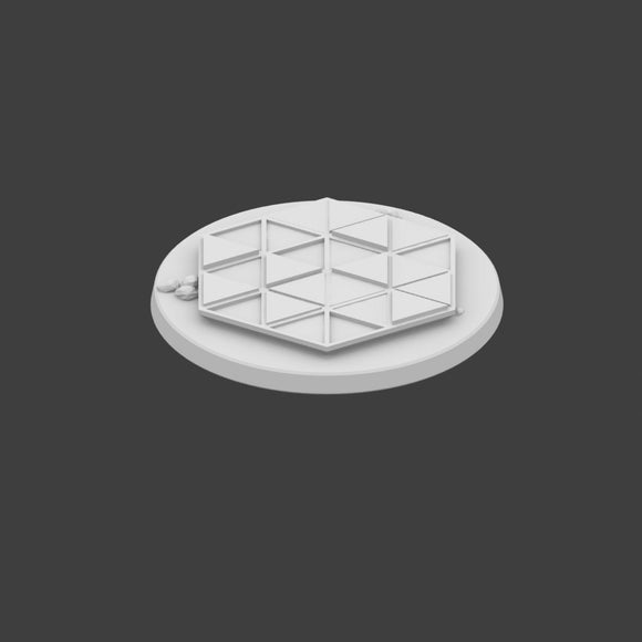 32mm Miniature Hex Base Set 5