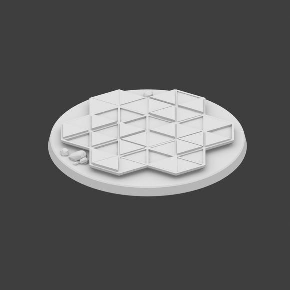 40mm Miniature Hex Base Set 5