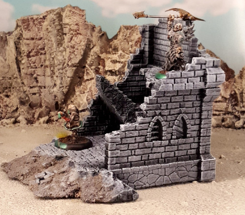 Ulvheim House Style D-[40KTerrain]-[Fantasyterrain]-[3DPrintedTerrain]-[Wargaming]-[Tabletopgaming]-OTP Terrain Off The Print Gaming