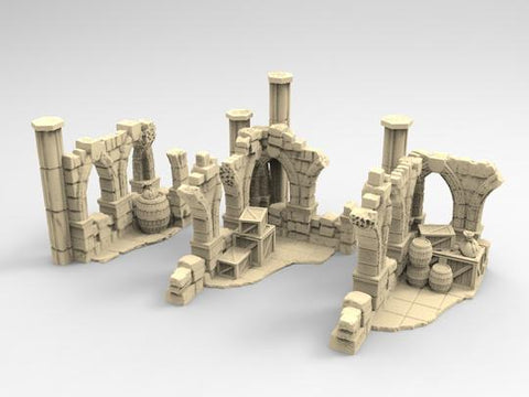 Ruined Corners Set