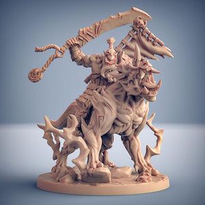 Warugo the Oni Beast (and Yoshigruzu mounted version) #B - OTP Terrain & Miniatures Off The Print Gaming