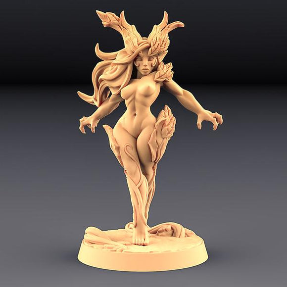 Aidreth Treeborn - Deepwood Alfar (Fantasy Pin-Up) - OTP Terrain & Miniatures Off The Print Gaming
