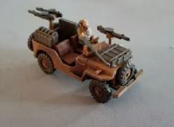 Allied Jeep Bundle of  3 - FMD PLA+ Plastic All 3 of British Airborne - UV RESIN All 3 of British Airborn