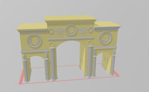 Archway - OTP Terrain & Miniatures Off The Print Gaming