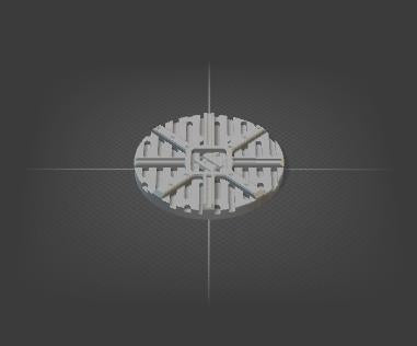 40mm Miniature Bases Set of 10-[40KTerrain]-[Fantasyterrain]-[3DPrintedTerrain]-[Wargaming]-[Tabletopgaming]-OTP Terrain Off The Print Gaming