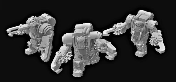Armored Broozers C x3 - OTP Terrain & Miniatures Off The Print Gaming