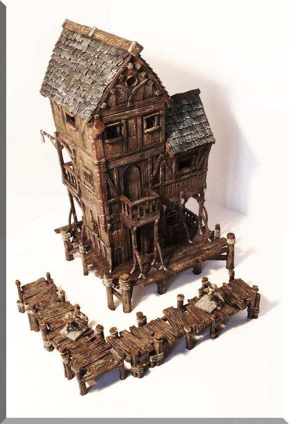 Village House #5 - OTP Terrain & Miniatures Off The Print Gaming