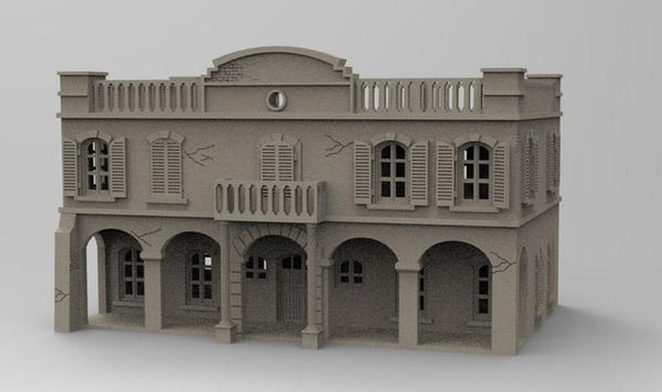 "Bank From ""Kelly's Heroes"" - OTP Terrain & Miniatures Off The Print Gaming"