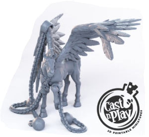Pegasus Chained