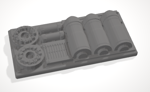 Set of 10 Chest with Hinged lid-[40KTerrain]-[Fantasyterrain]-[3DPrintedTerrain]-[Wargaming]-[Tabletopgaming]-OTP Terrain Off The Print Gaming