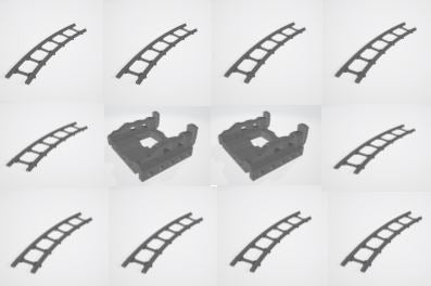 Curved Track & Buffer Stop Set