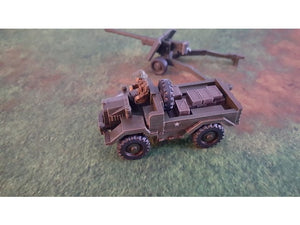 British Airborne Cut Down C8 Morris Truck 15mm Scale