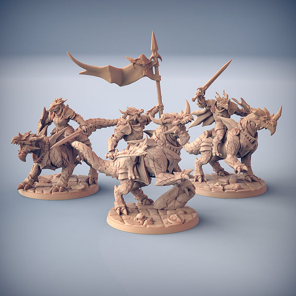 Dragonling Knights (SET OF 3)