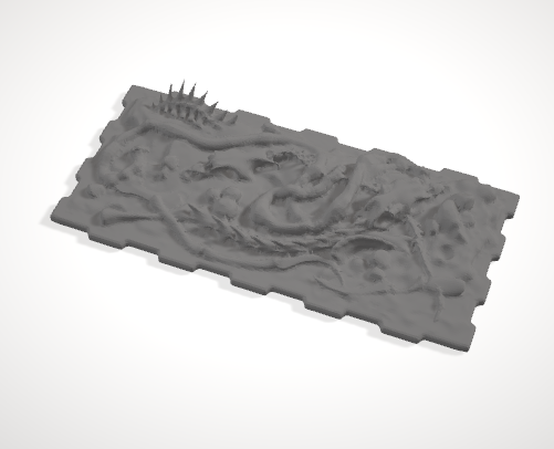 Dumpster Insert Guts-[40KTerrain]-[Fantasyterrain]-[3DPrintedTerrain]-[Wargaming]-[Tabletopgaming]-OTP Terrain Off The Print Gaming