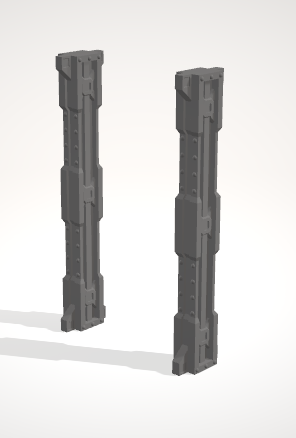 Industrial Leg extentions-[40KTerrain]-[Fantasyterrain]-[3DPrintedTerrain]-[Wargaming]-[Tabletopgaming]-OTP Terrain Off The Print Gaming