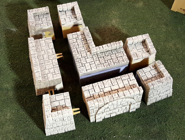 Tikal Temple Grounds Layout A-[40KTerrain]-[Fantasyterrain]-[3DPrintedTerrain]-[Wargaming]-[Tabletopgaming]-OTP Terrain Off The Print Gaming