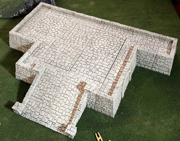 Tikal Temple Grounds Layout C-[40KTerrain]-[Fantasyterrain]-[3DPrintedTerrain]-[Wargaming]-[Tabletopgaming]-OTP Terrain Off The Print Gaming