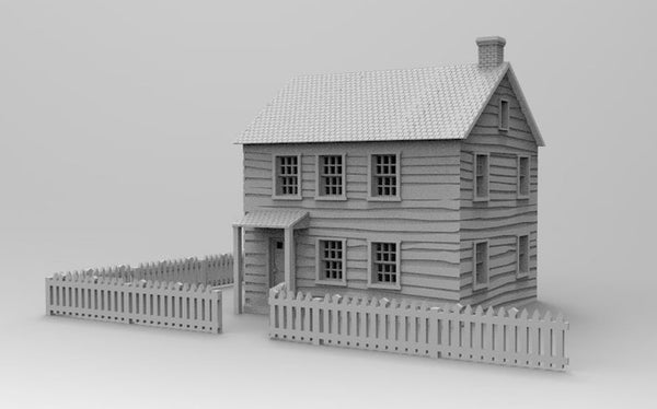 Klingle house & Fences