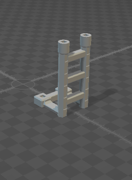 6mm Ladder Half Height