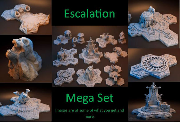 Escalation: Blackstone Fortress Tile Mega Set