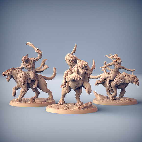 Rakshatiger Riders (SET OF 3)
