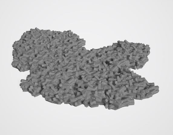 Rubble Set - 28mm
