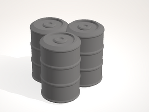 Scatter Barrel 4-[40KTerrain]-[Fantasyterrain]-[3DPrintedTerrain]-[Wargaming]-[Tabletopgaming]-OTP Terrain Off The Print Gaming