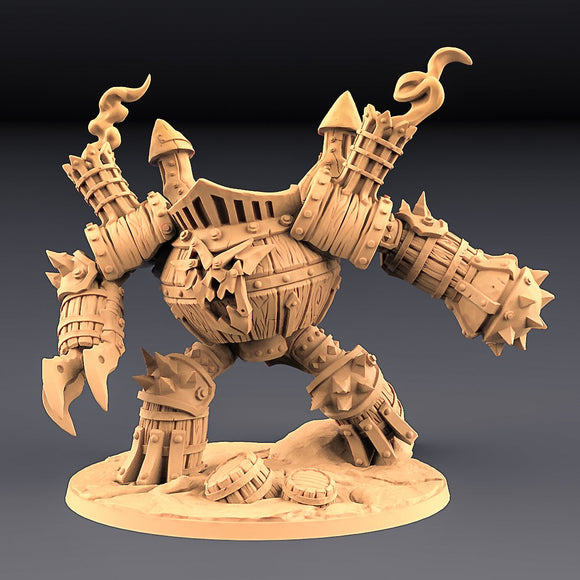 Sparksoot Scrap Golem - OTP Terrain & Miniatures Off The Print Gaming