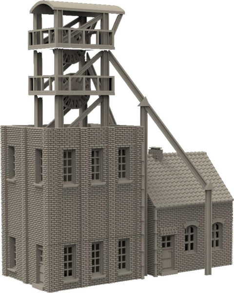 "Shaft Tower ""Glückauf"" - OTP Terrain & Miniatures Off The Print Gaming"