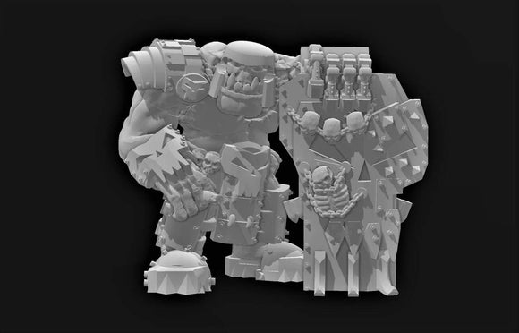 Shield Boss - OTP Terrain & Miniatures Off The Print Gaming