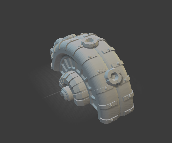 6mm Shield Generator