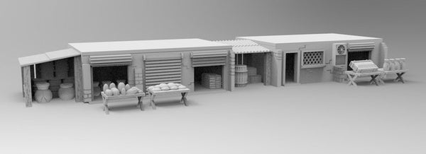 Shops Set - 28mm - 20mm