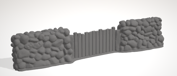Stone Walls SET 5 of each wall