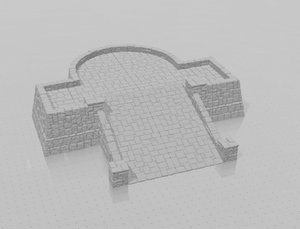 Tikal Temple Grounds Layout G-[40KTerrain]-[Fantasyterrain]-[3DPrintedTerrain]-[Wargaming]-[Tabletopgaming]-OTP Terrain Off The Print Gaming