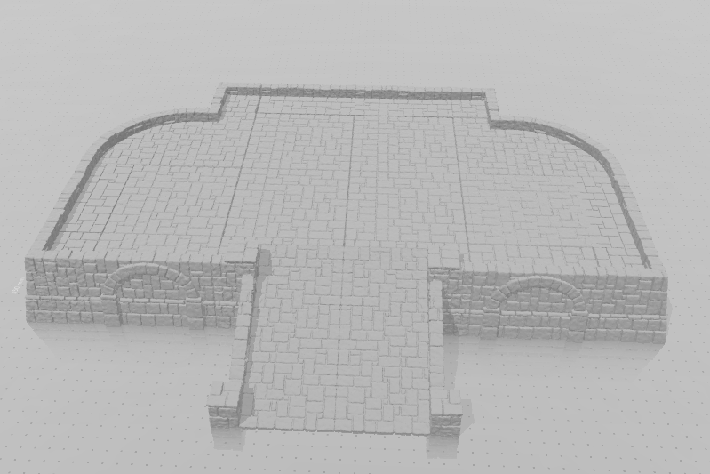 Tikal Temple Grounds Layout E-[40KTerrain]-[Fantasyterrain]-[3DPrintedTerrain]-[Wargaming]-[Tabletopgaming]-OTP Terrain Off The Print Gaming