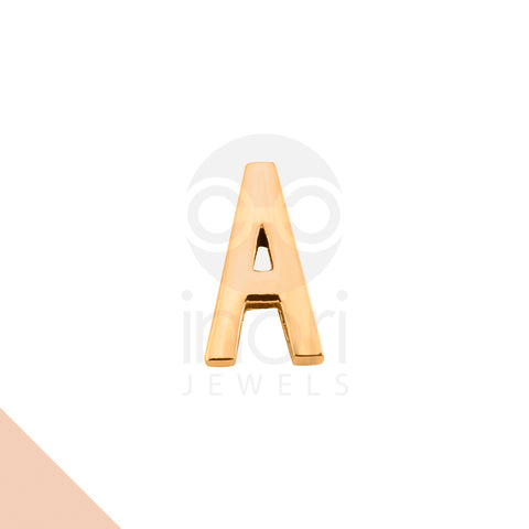SS charm letter A - RS