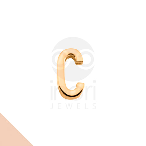 SS charm letter C - RS