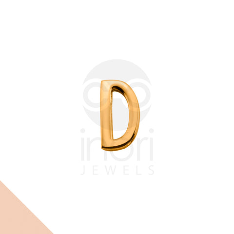 SS charm letter D - RS