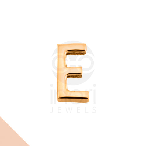 SS charm letter E - RS