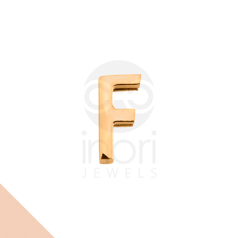 SS charm letter F - RS