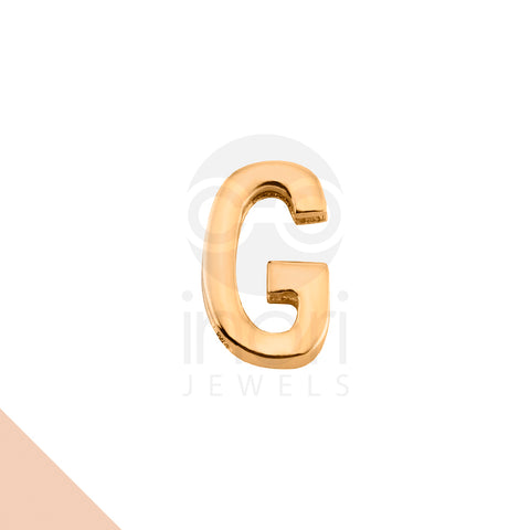 SS charm letter G - RS