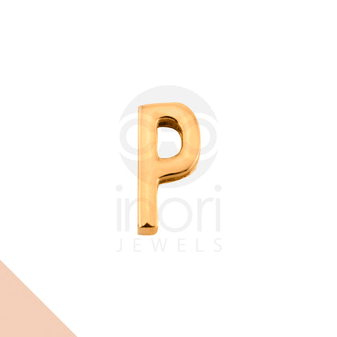 SS charm letter P - RS