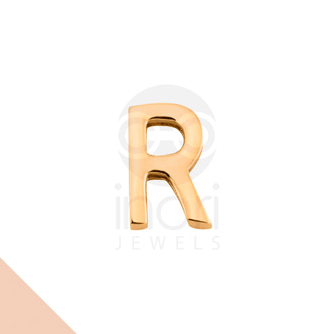 SS charm letter R - RS