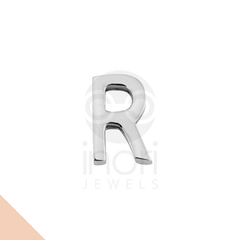 SS charm letter R - ST