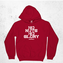 Load image into Gallery viewer, No Nuts Nuts No Glory Hoodie